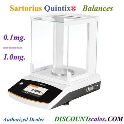 Sartorius® QUINTIX124-1S Analytical Balance (120g. x 0.1mg.)