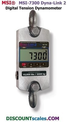 MSI 502967-0006 Digital Tension Dynamometer  (50,000 lb. x 20 lb.)