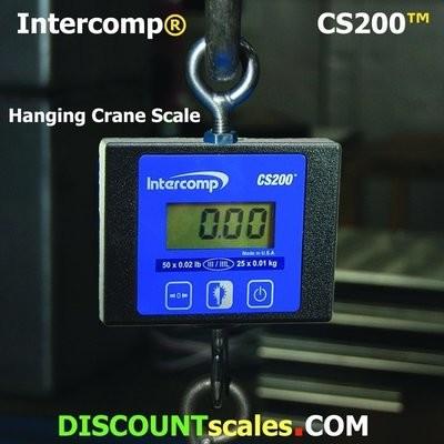 Intercomp® CS200 Model 100774 Crane Scale  (50 lb. x 0.02 lb.)