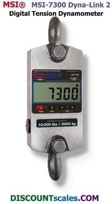 MSI 502967-0004 Digital Tension Dynamometer  (10,000 lb. x 5 lb.)