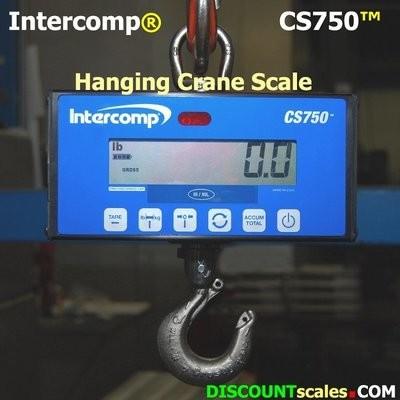 Intercomp® CS750 Model 184255 Crane Scale  (1000 lb. x 0.5 lb.)