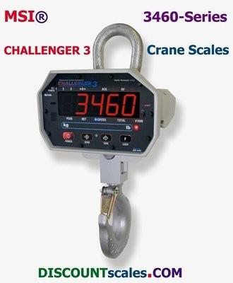 MSI-502887-0003 Crane Scale (5000 lb. x 2.0 lb. + 10,000 lb. x 5 lb.)