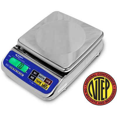 Intelligent Weighing® AGS-12K Waterproof Scale (12kg. x 0.002kg.)