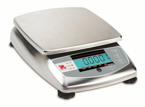Ohaus® FD6 Food Portioning Scale  (15 lb. x 0.002 lb.)