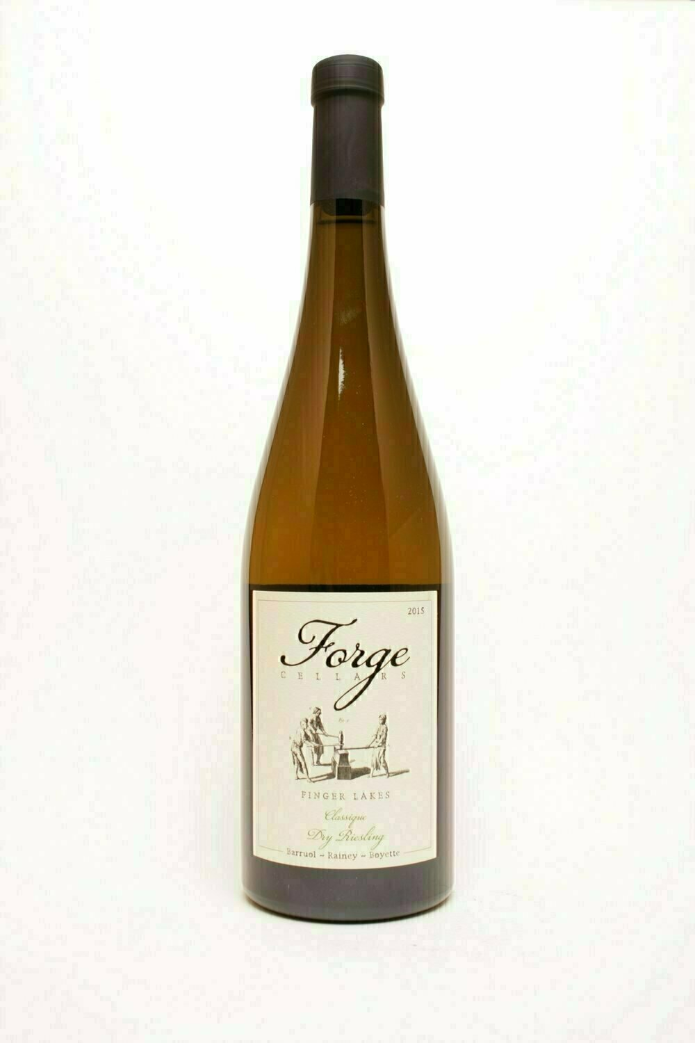 Forge Cellars Finger Lakes Riesling Dry Classique 2015