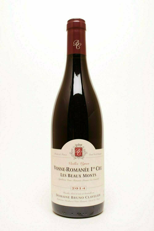Domaine Bruno Clavelier Vosne-Romanée 1° cru  Les Beaux Monts VV 2016
