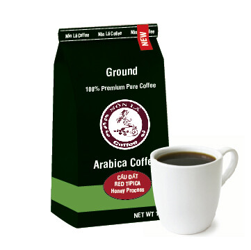 Cầu Đất Arabica. Honey Red Tipica