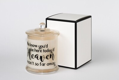Soy Candles with Saying