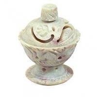 """INCENSE HOLDER, MINI LOTUS FLOWER CONE CUP (2.5"""")"""