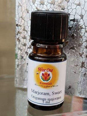 Marjoram Sweet, Organic Essential Oil  (5ml)