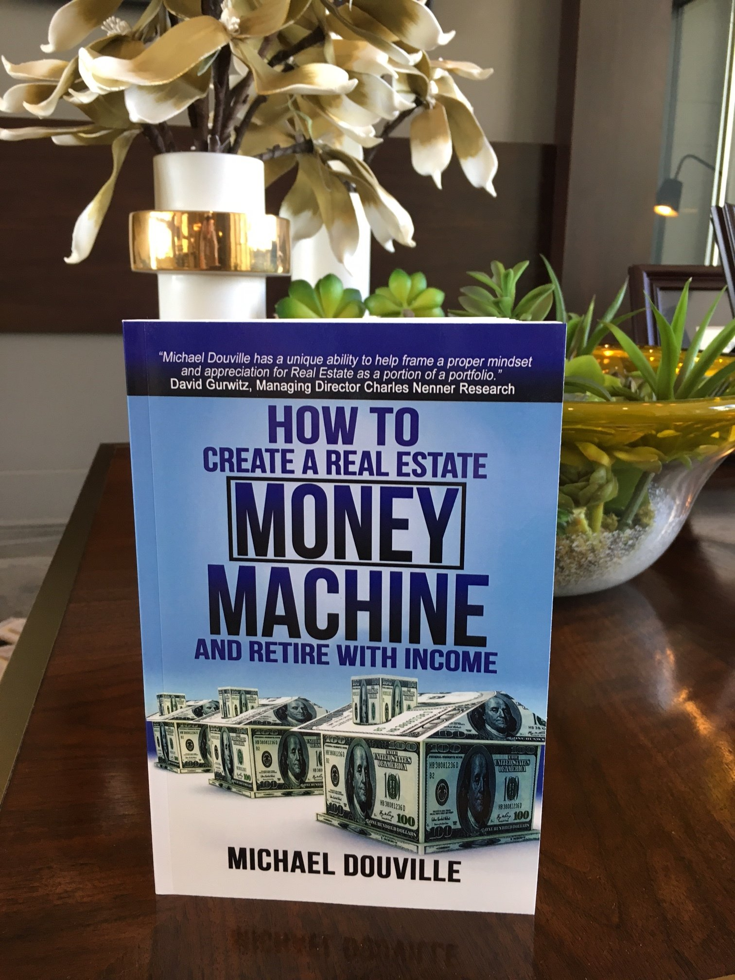 Paperback Book How To Create A Real Estate Money Machine And Retire With Income 00001