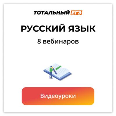 Русский Язык ЕГЭ Тотальный 1на1