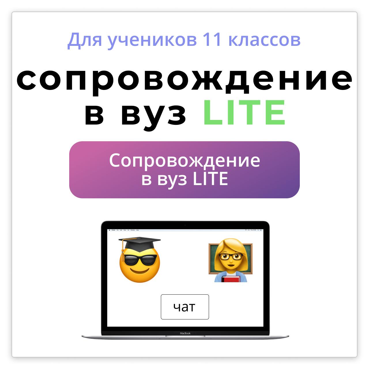 Индвидуальное сопровождение Lite Онлайн 1на1