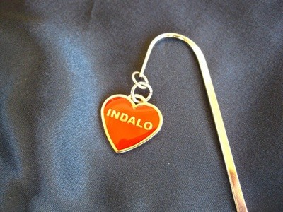 Indalo heart bookmark