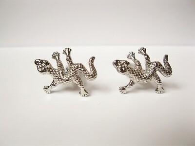 Lucky gecko cufflinks