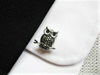 Guardian owl cufflinks