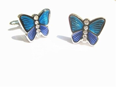 Butterfly cufflinks - gift for big hopes and grand aspirations