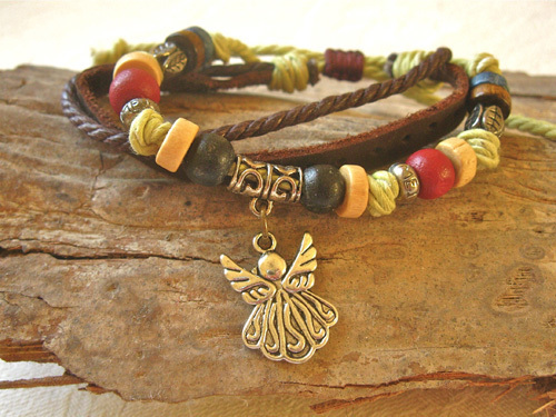 Guardian angel bracelet ~ NaturalSoul, pimenta