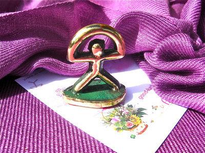 Lucky Indalo statuette ~ bronze, classic