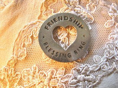 Friendship blessing ring