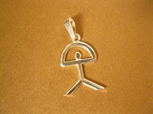 Indalo pendant ~ classic, 26mm, silver