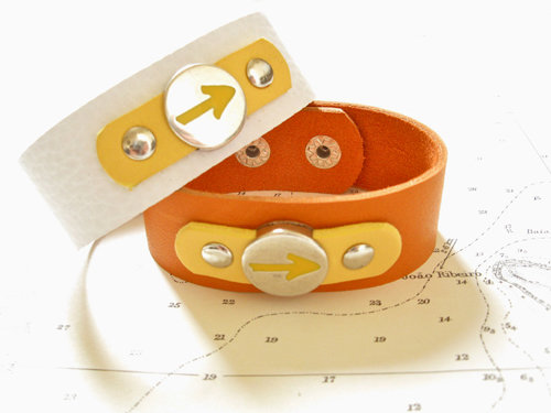 Way of St James Arrow symbol cuff bracelet - Have Faith