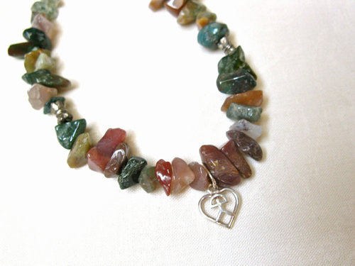 Lucky Indalo + Jade necklace