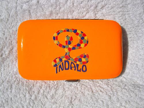 Lucky Indalo manicure set ~ tangerine dream