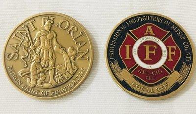 Local 2819 Tri-Color Coin