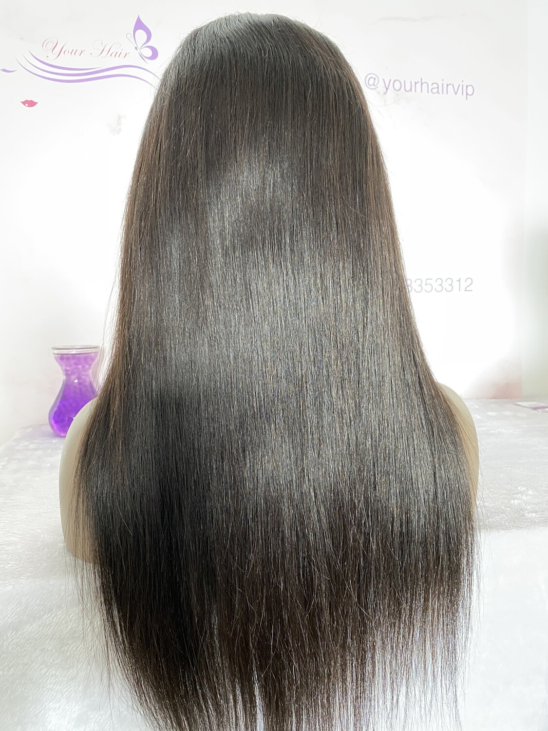 13x4 HD lace Frontal Wig Straight 180 Density