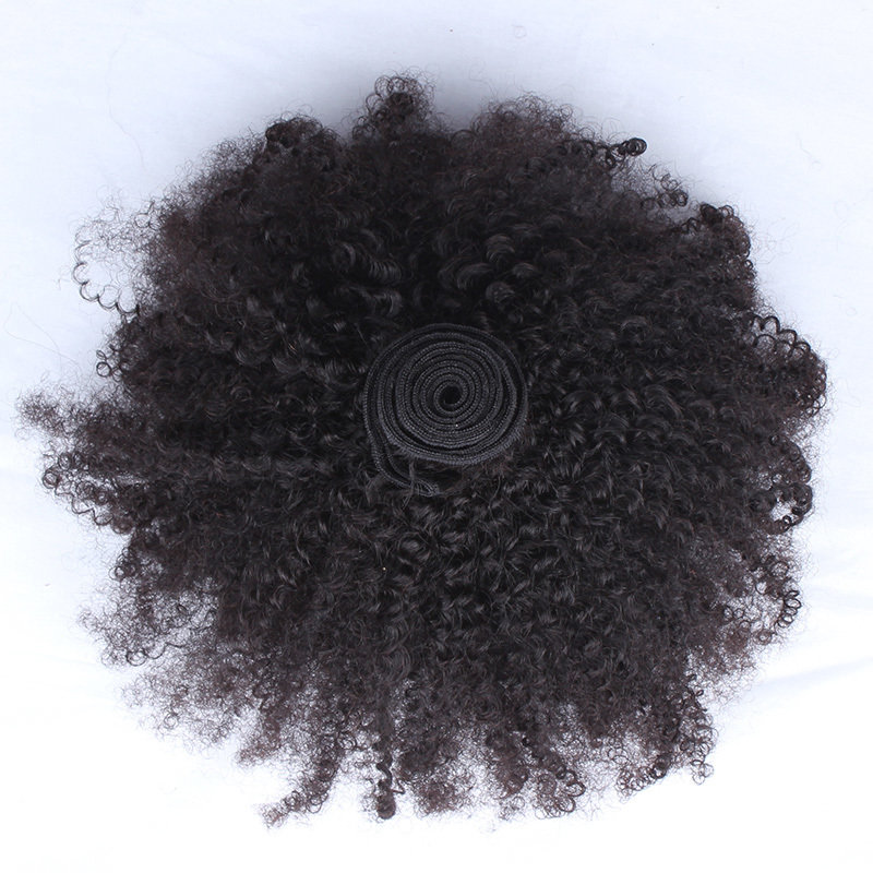 1 PC Afro Kinky Curly Human Virgin Hair Bundle