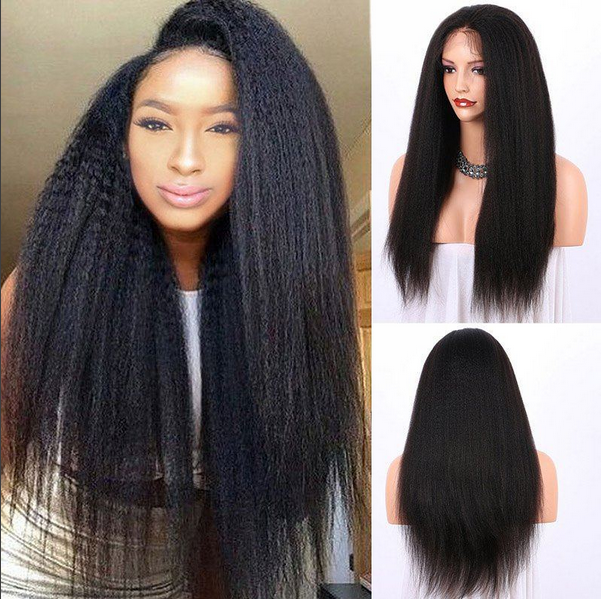 Deep Wave Full Lace Frontal 13*4 Wig Human Hair With Baby Hair Can be dyed
