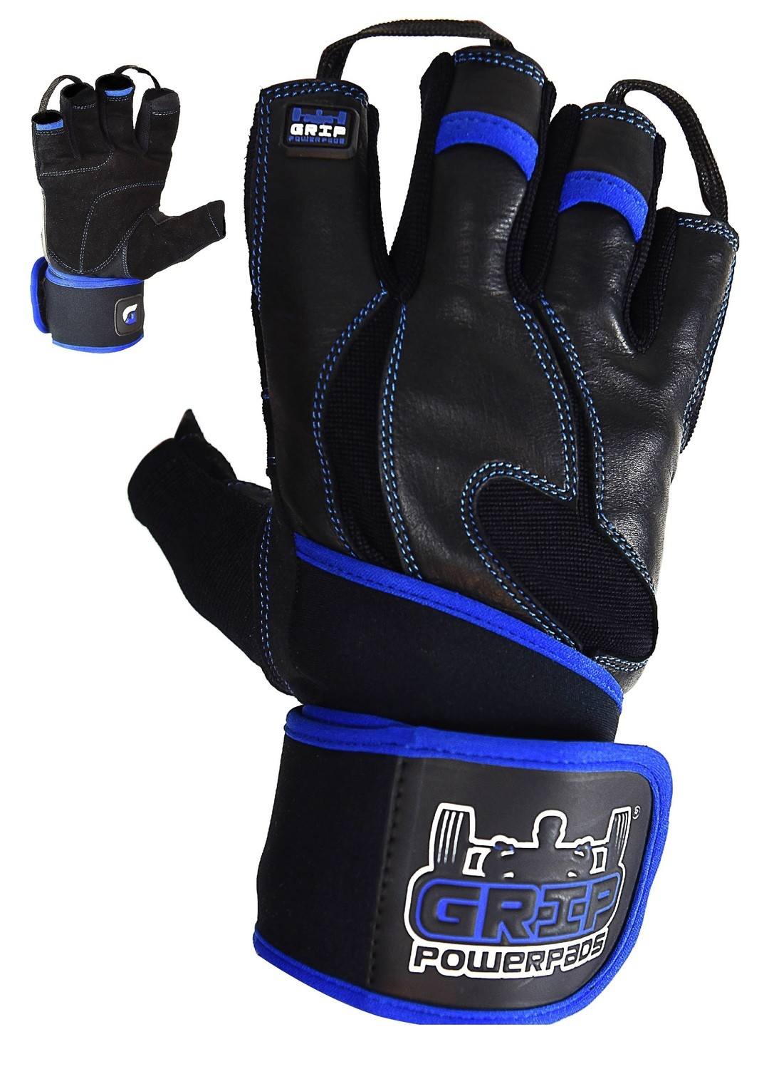 """Gym Gloves - Ranger with Built in 2"""" Wide Wrist Wraps"""