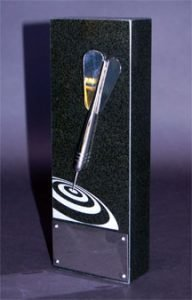 Marketing Effectiveness Award Granite Trophy