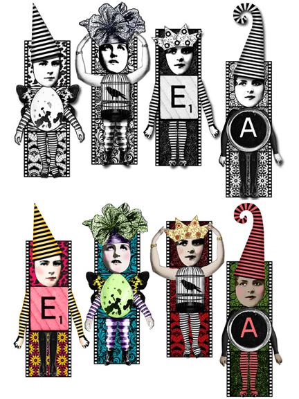 Color Me Twinchie Dolls