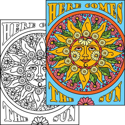 Sun Collage & Color Set