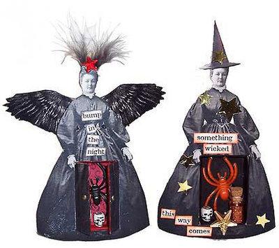 Winged Widows Shrines