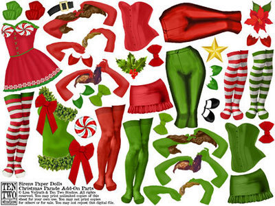Sirens Christmas Parade Add-On Parts