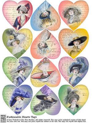 Fashionable Hearts