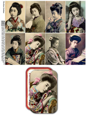 Tin-Sized Geishas