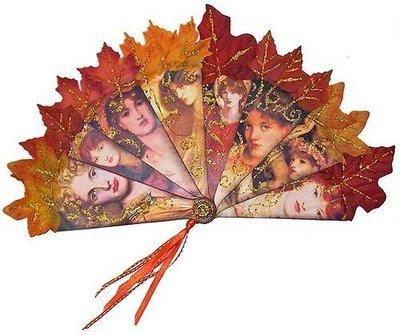 Rossetti Fire Fan