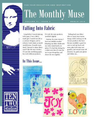 March – Falling Into Fabric