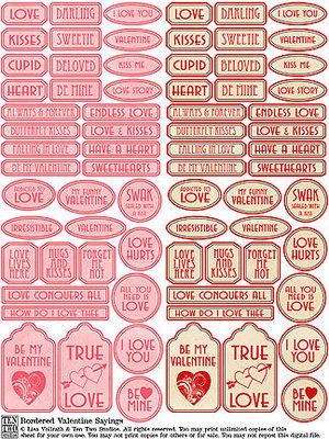 Bordered Valentine Sayings