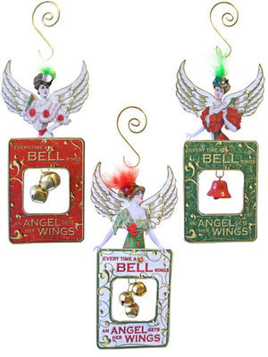 Angel Bells Ornaments