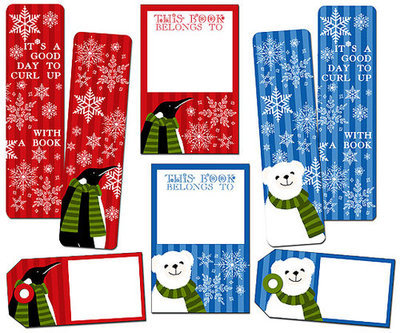 Winter Friends Bookmark Set