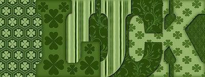 Emerald LUCK Letter Book
