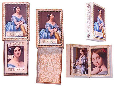 Victoriana Matchbox Book