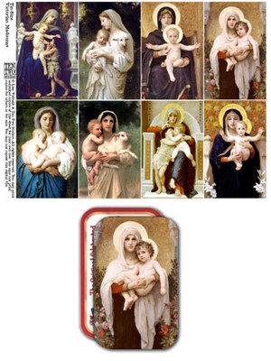 Tin-Sized Victorian Madonnas