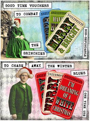 Deirdre's Grinchy Postcards