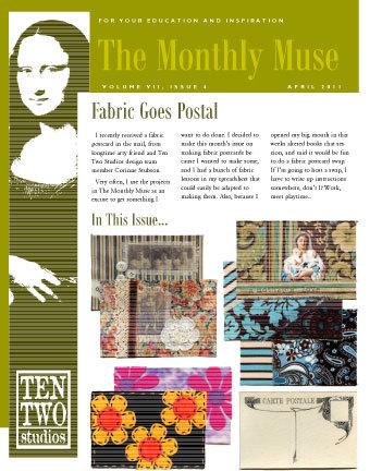 April – Fabric Goes Postal